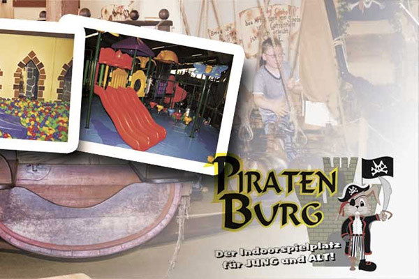 Piratenburg in Hagen